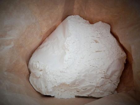 Flour, looking fresh