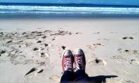 Sun, surf, sand, shoes