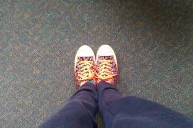 School hallways and comfy treads